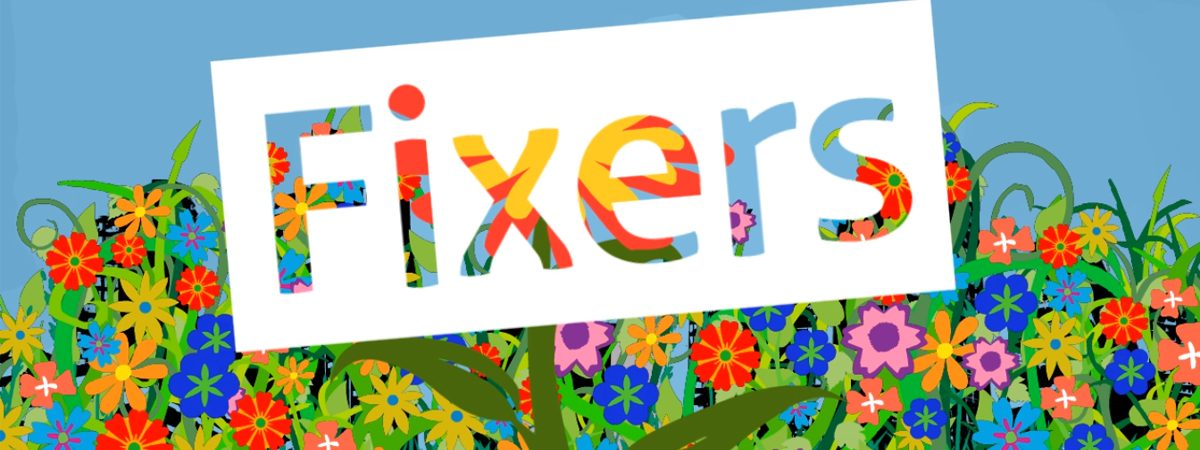 ITV Fixers animation logo