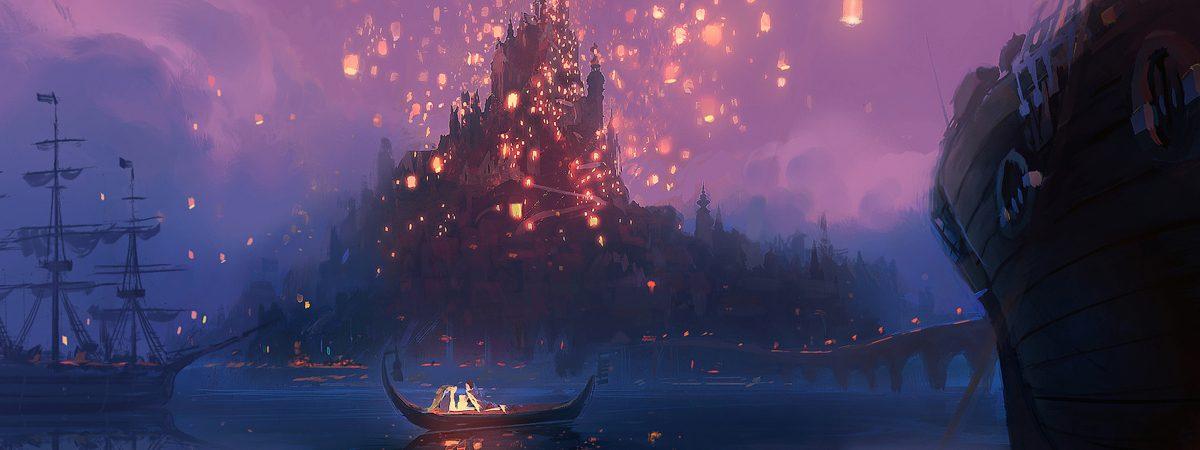 Disney's Rapunzel Concept Art