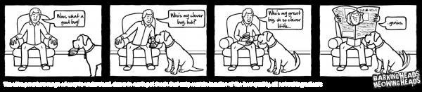 Barking Heads Newspaper Comic Strip