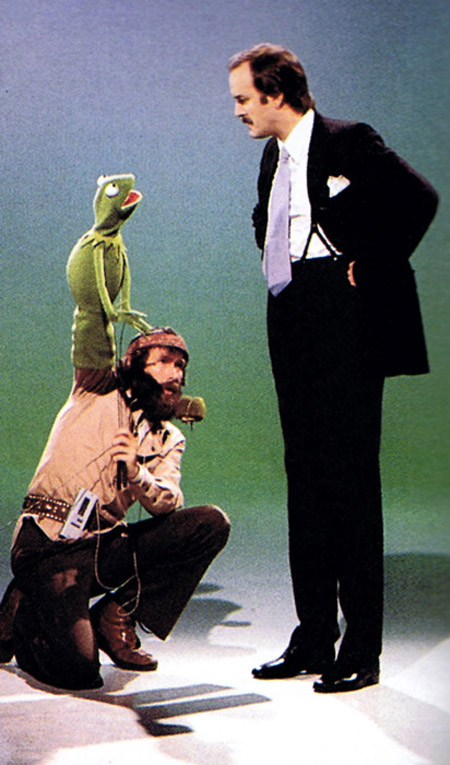 jim henson, john cleese, kermit the frog