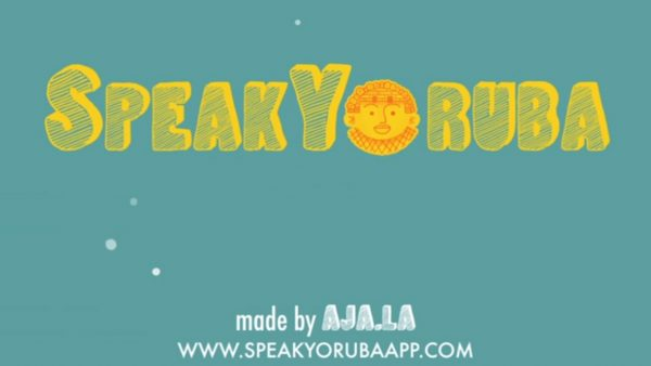 Promotional Animation Apps Speak Yoruba