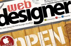 Web Designer Magazine Cover 2012