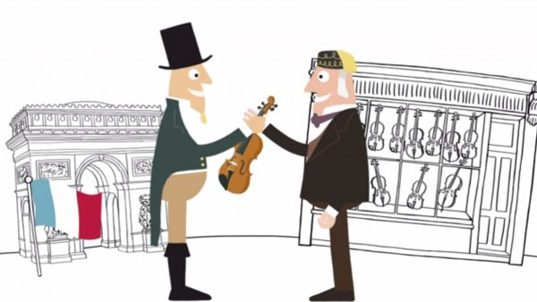 Tarisio Cozio Violin Selling History Commercial Animation