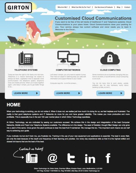 A fresh new website for Girton technology
