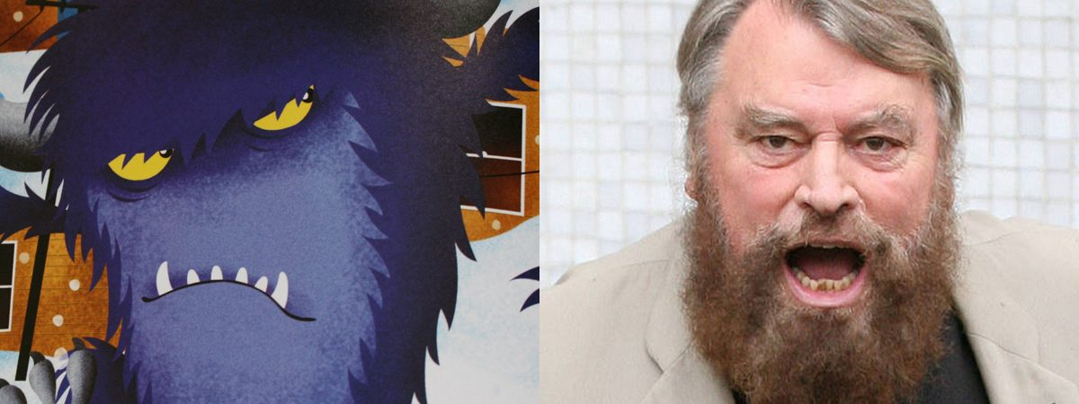 Recording Brian Blessed as the Fearsome Beastie