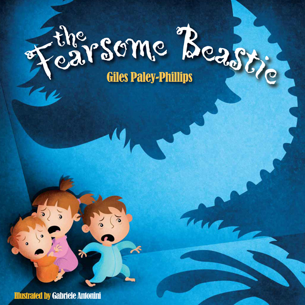 The Fearsome Beastie front cover illustration