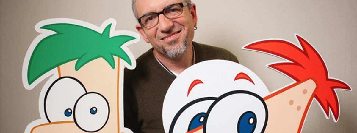 Katie Interviews Phineas and Ferb Creator, Swampy Marsh