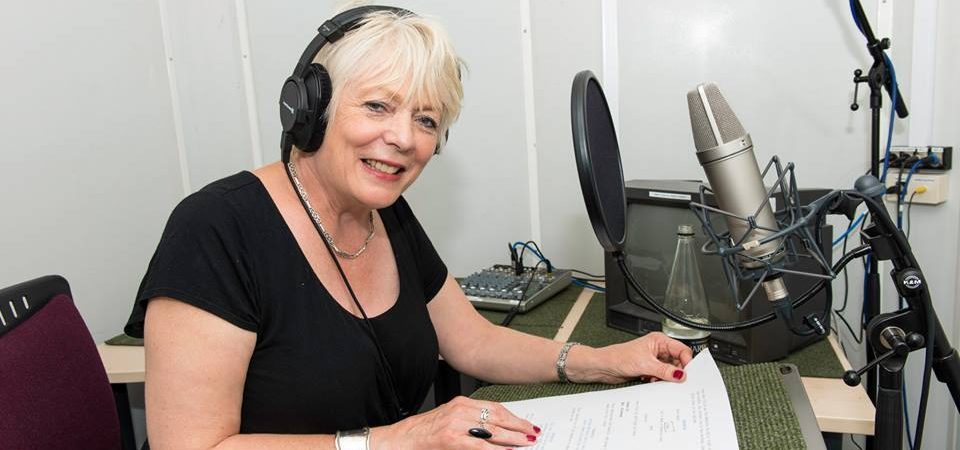 Recording Alison Steadman for the Fearsome Beastie