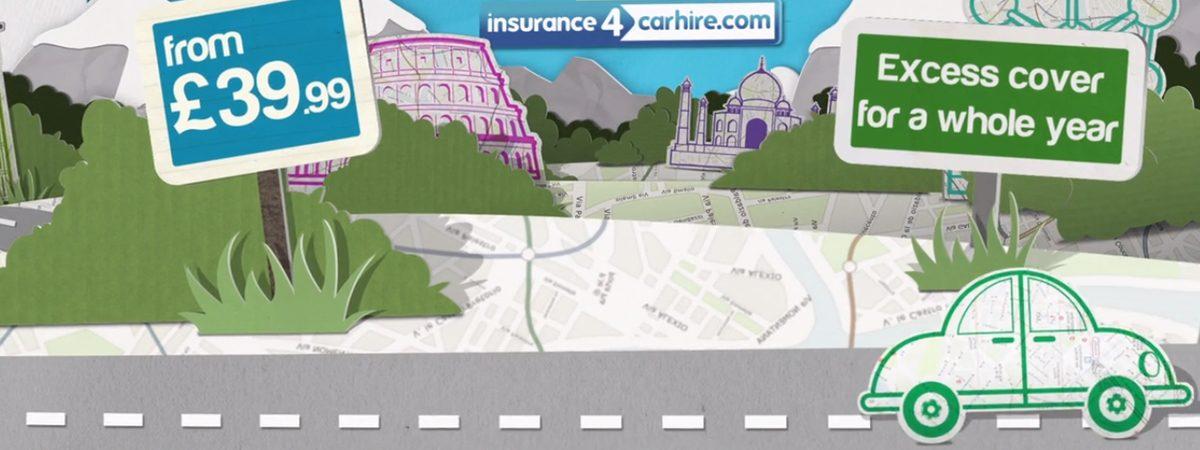 Animated Car Insurance Commercial Insurance4CarHire