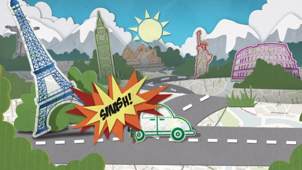 Animated TV Commercial for Insurance 4 Car Hire