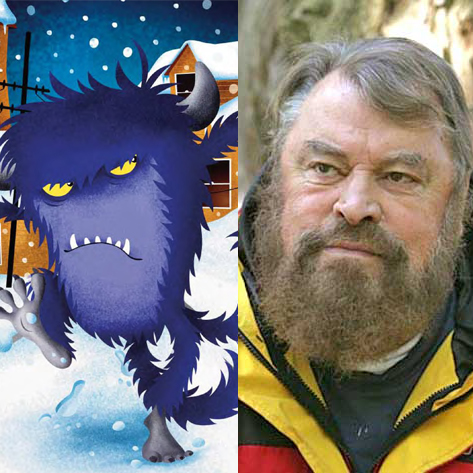 Brian Blessed to voice the fearsome beastie