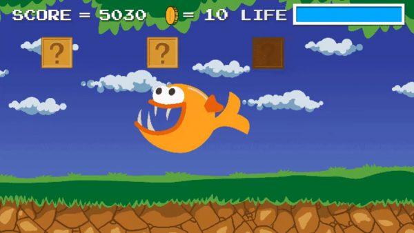 Payara New Fish on the Block 32 Bit Game Animation