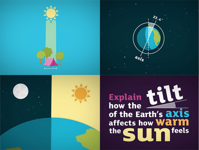 Educational animations about science