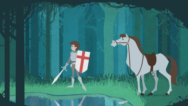 Educational history animation for children - myths, legends and history