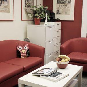 Animation Studio London Office Meeting Space