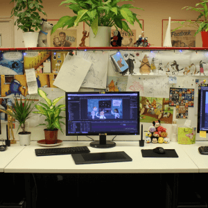 Animation Studio London Office Work Space
