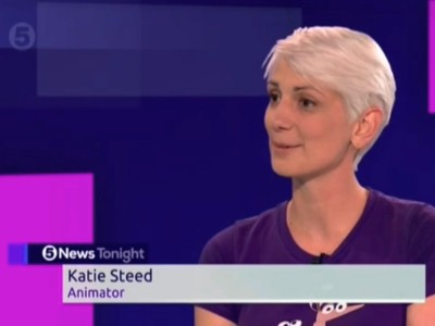 Katie Steed Animation Channel 5 News