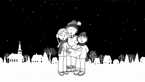 Animated Christmas ecard animation