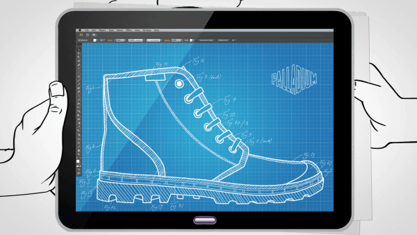 Animation for social media campaigns - Palladium's Pampa boot commercial