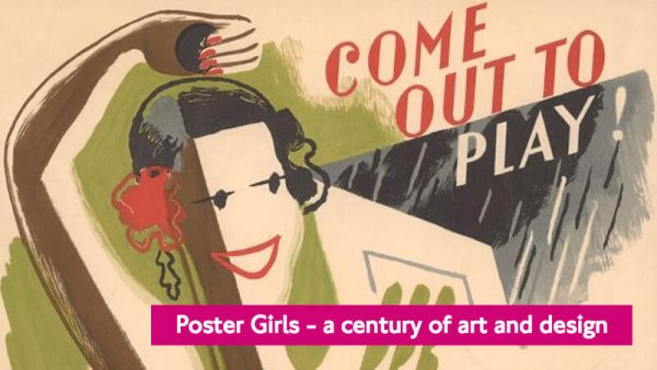 Celebrating 100 Years of Women Poster Designers: London Transport Museum