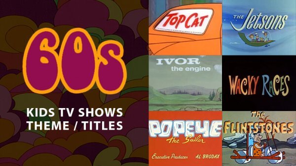 Classic Animated Children's TV Theme Tunes & Titles From the 60's