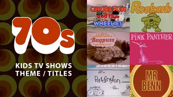 Classic Animated Children's TV Theme Tunes & Titles From the 70's