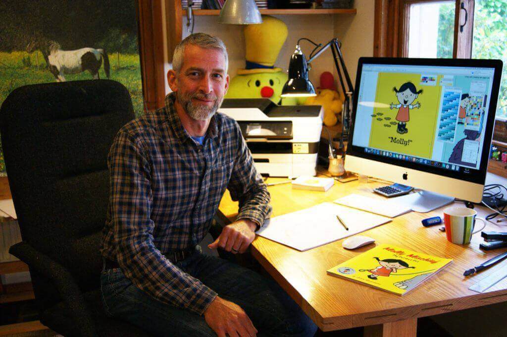 Adam Hargreaves, author & illustrator of Mr Men and Little Miss