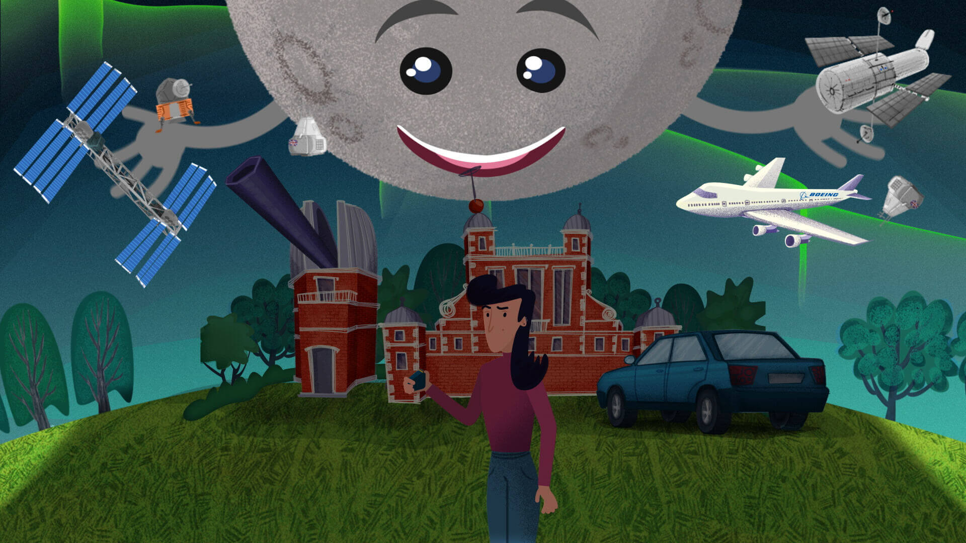 Photo of Slurpy Studios' animation work space