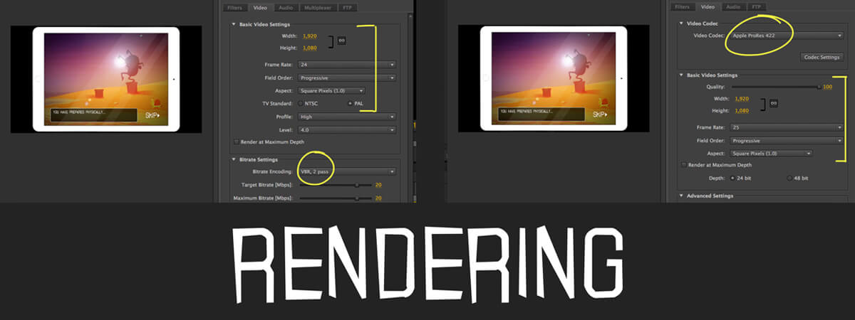 How to Render Animation: Simple Guide to Codecs & Settings for Rendering your Project
