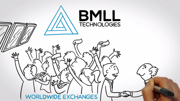 Whiteboard animation for BMLL Technology Fintech