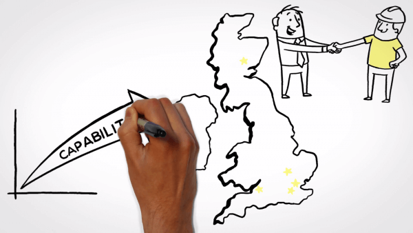 Whiteboard animation film style - Careys
