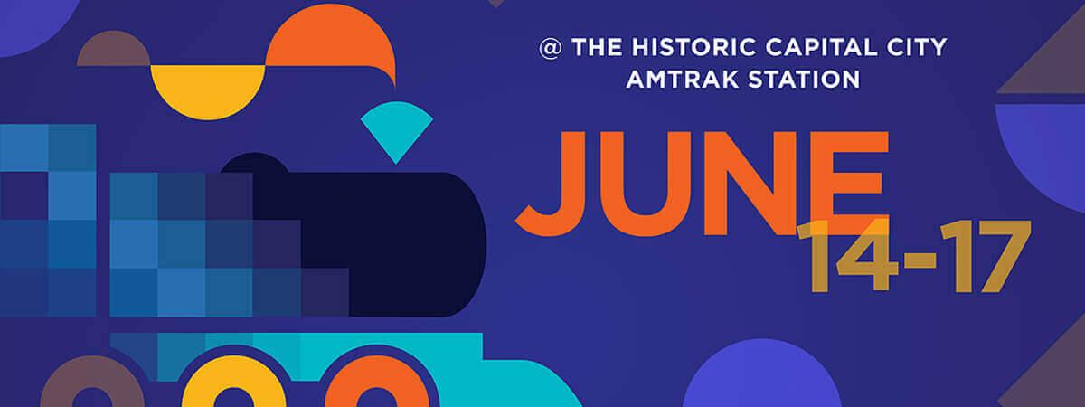 florida animation festival 2018 june logo