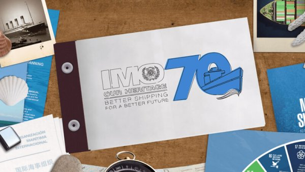 International Maritime Organisation 70 Anniversary Celebration Animation