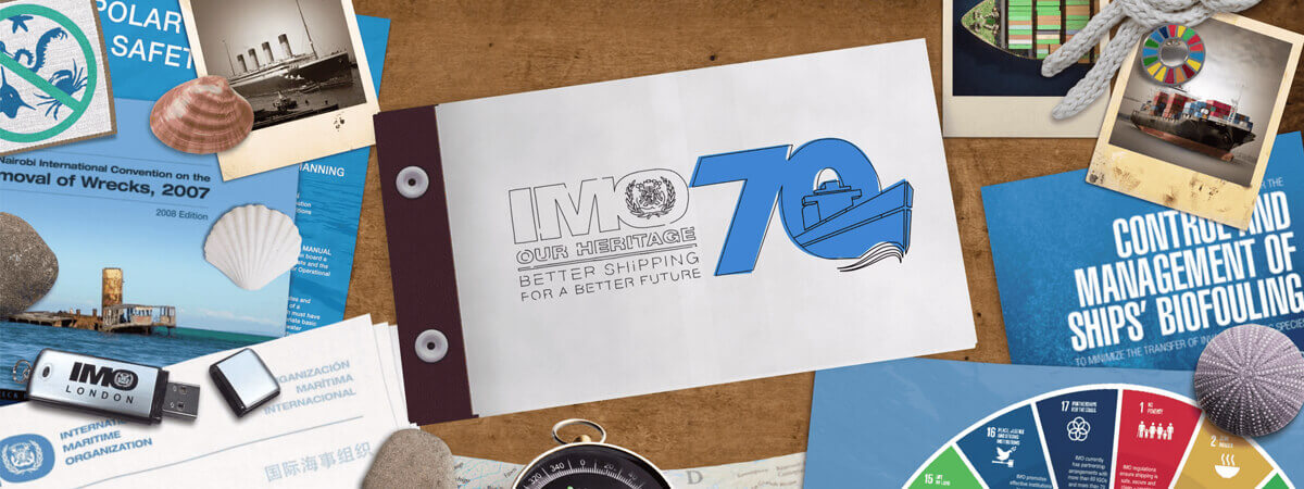 International Maritime Organisation 70 Anniversary Commemorative Animation