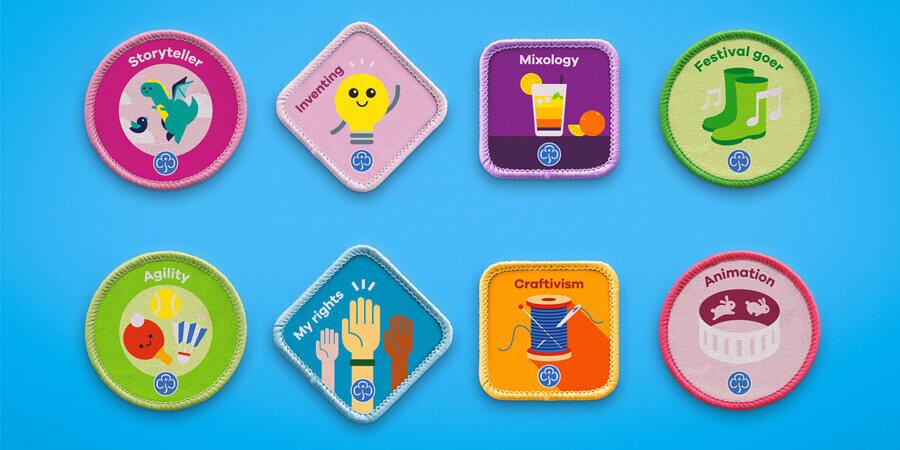 New Girlguide activity badges