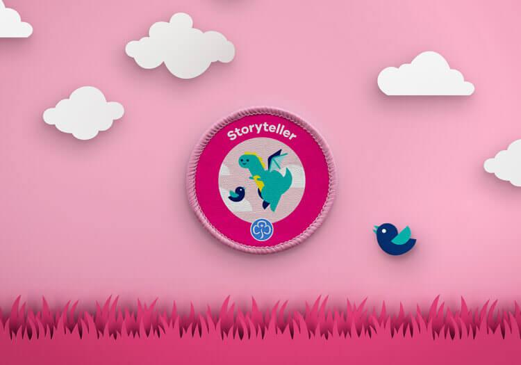 Storytelling Girlguide badge