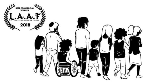 Best Commercial WINNER at LA Animation Festival 2018